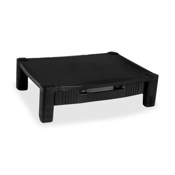 Kantek Adjustable Standard Monitor Stand w/Drawer