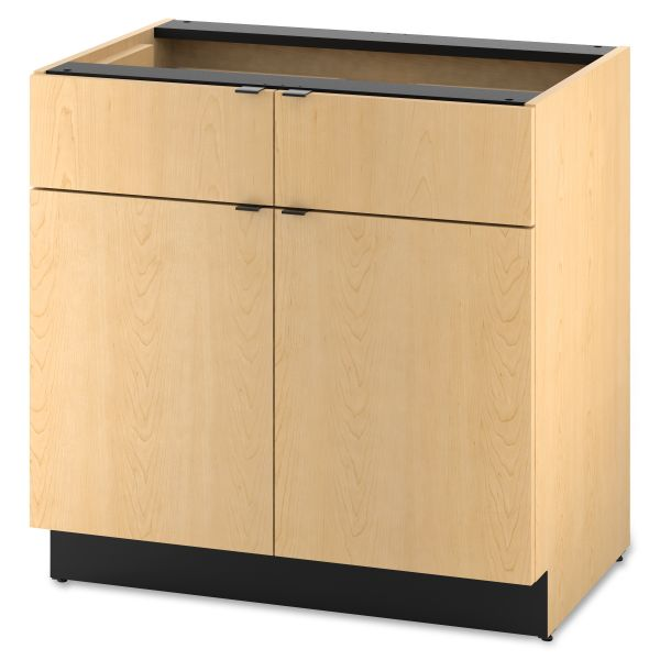 "HON Modular Double Base Cabinet | 2 Drawers / 2 Doors | 36""W"