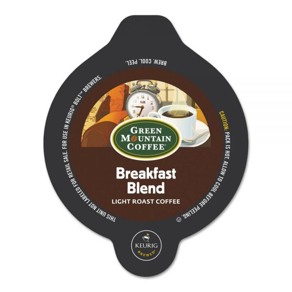 Green Mountain Coffee Roasters Breakfast Blend Bolt Pods
