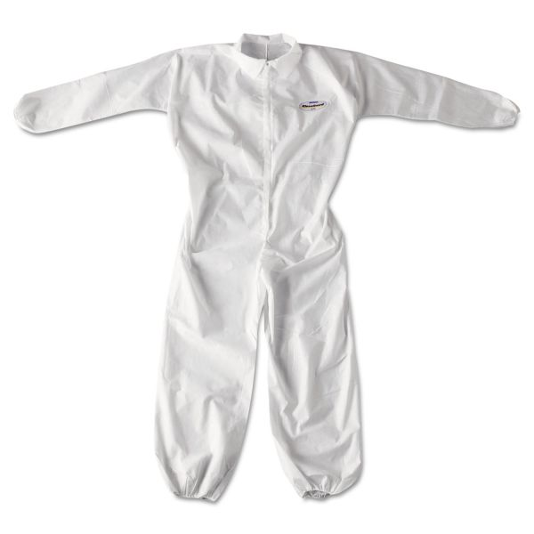 KleenGuard* A20 Breathable Particle Protection Coveralls, Zip Closure, 2XL, White