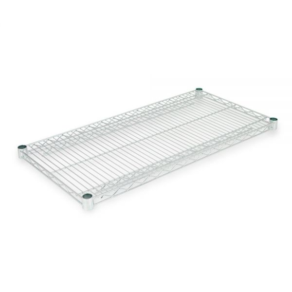 Alera Industrial Wire Shelving Extra Wire Shelves, 36w x 18d, Silver, 2 Shelves/Carton