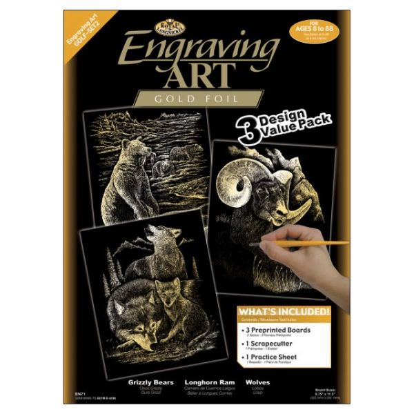 Foil Engraving Art Kit Value Pack