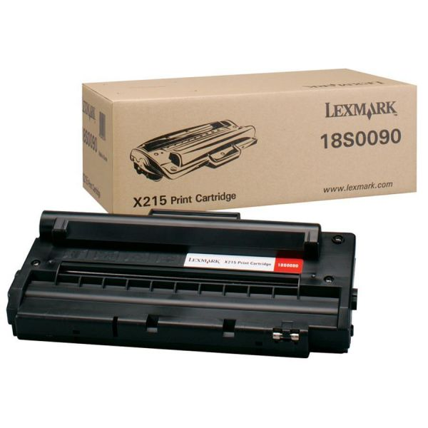 Lexmark 18S0090 Black High Yield Toner Cartridge