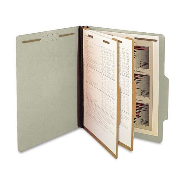 SJ Paper 2-Divider Pressboard Classification Folders
