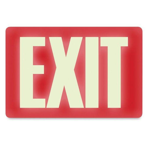 """U.S. Stamp & Sign """"Exit"""" Sign"""