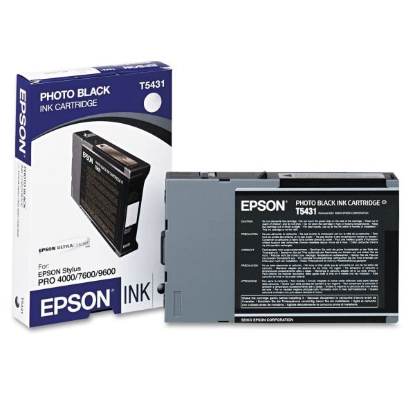 Epson T5431 Photo Black Ink Cartridge