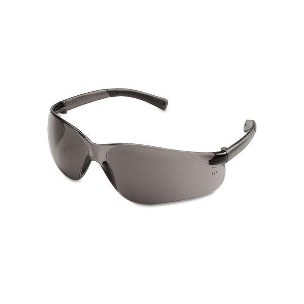MCR Safety BearKat Safety Glasses, Wraparound, Gray Lens