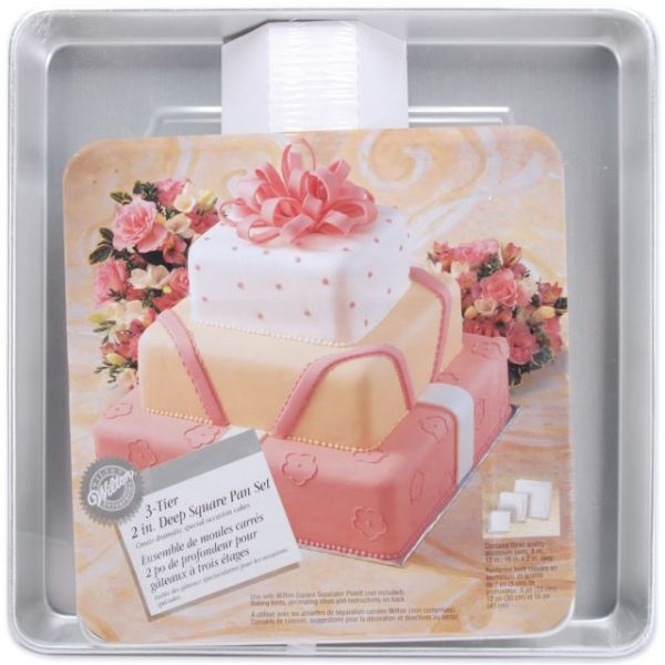 3-Tier Deep Cake Pan Set