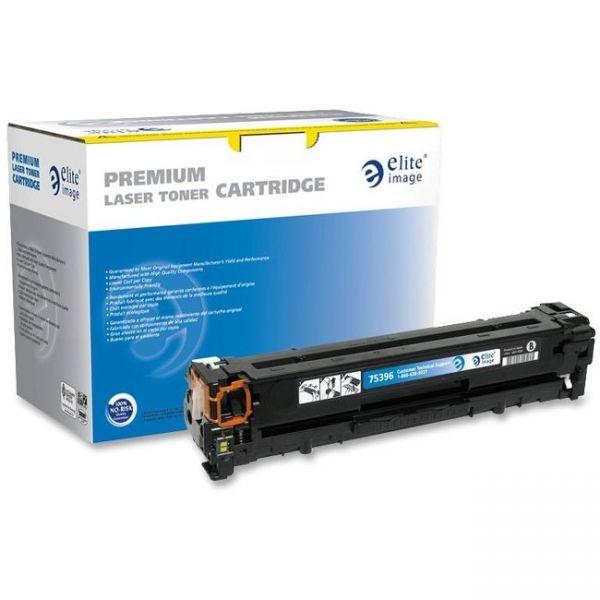 Elite Image Remanufactured HP 125A (CB540A) Toner Cartridge