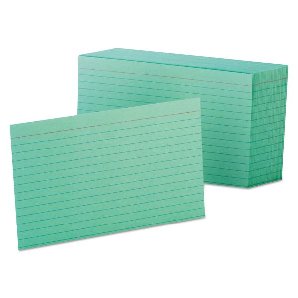 "Esselte 4"" x 6"" Ruled Index Cards"
