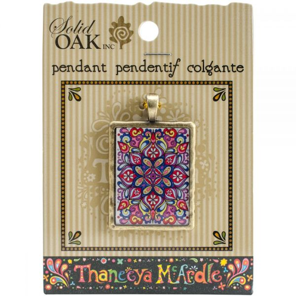 Thaneeya(R) LLC Acrylic Rectangle Pendant 1/Pkg