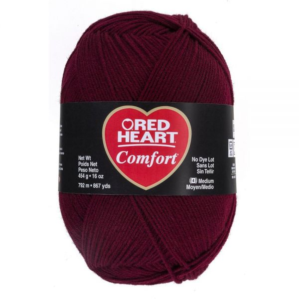 Red Heart Comfort Yarn - Claret