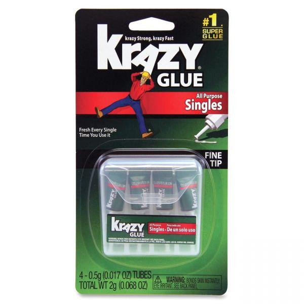 Krazy Glue All Purpose Single Use Super Glue
