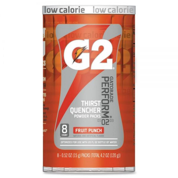 Gatorade G2 Red Single Serve Powder Packets