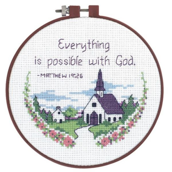 Learn-A-Craft Everything Is Possible Counted Cross Stitch Kit