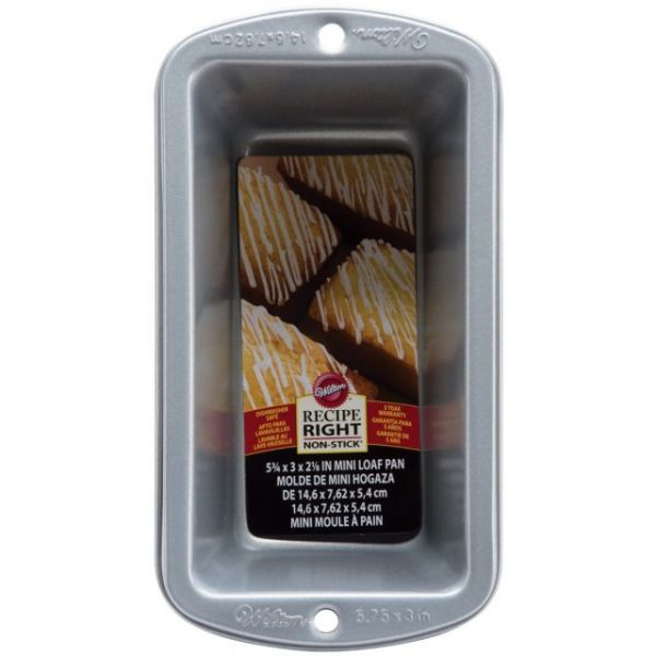 Wilton Recipe Right Mini Loaf Pan
