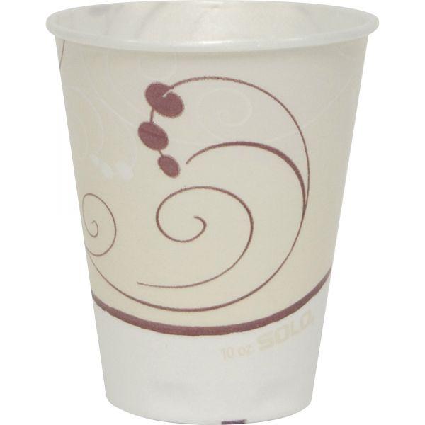 SOLO 10 oz Foam Coffee Cups