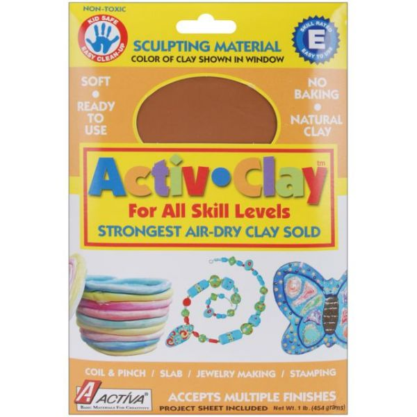 Activ-Clay Air-Dry Clay 1lb