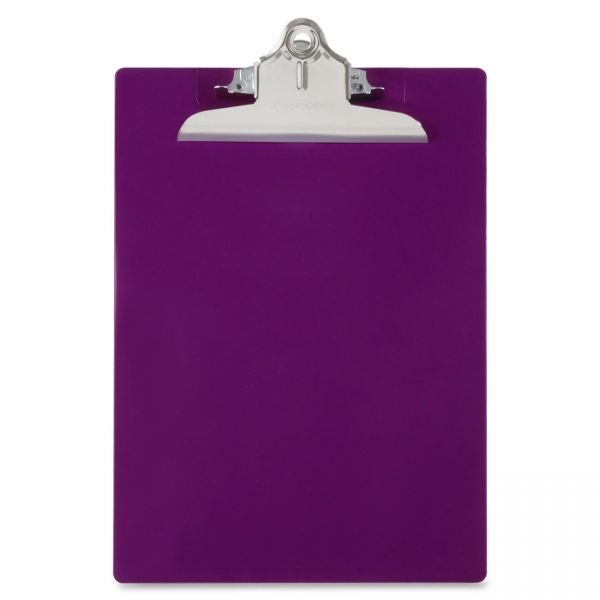 Saunders Recycled Purple Plastic Clipboard