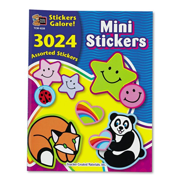 Teacher Created Resources Mini Stickers Sticker Book