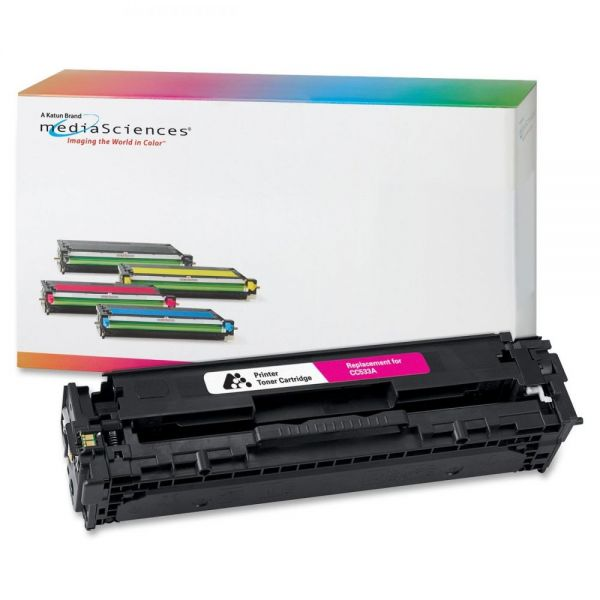 Media Sciences Remanufactured HP 304A Magenta Toner Cartridge