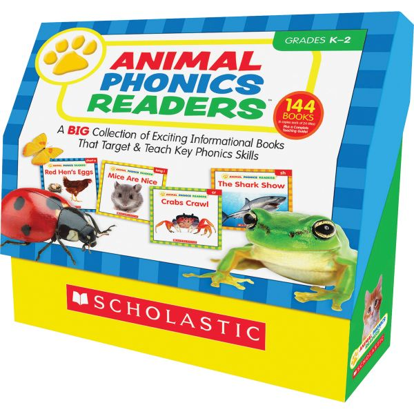 Scholastic Res. Gr K-2 Animal Phonics Rder Bk Set Education Printed Book by Liza Charlesworth - English