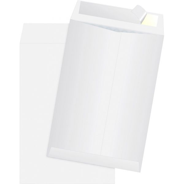 Survivor DuPont Tyvek Air Bubble Mailer, Self Seal, 6 1/2 x 9 1/2, White