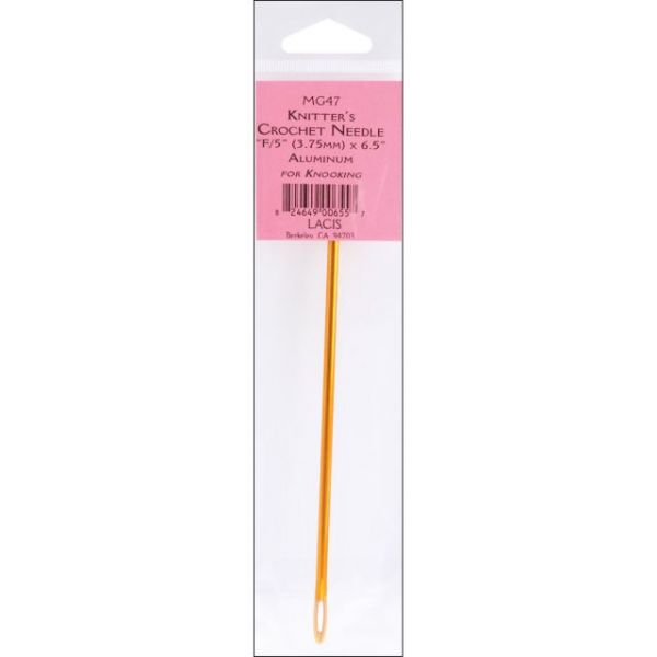 """Knitter's Aluminum Crochet Needle 6.5"""""""