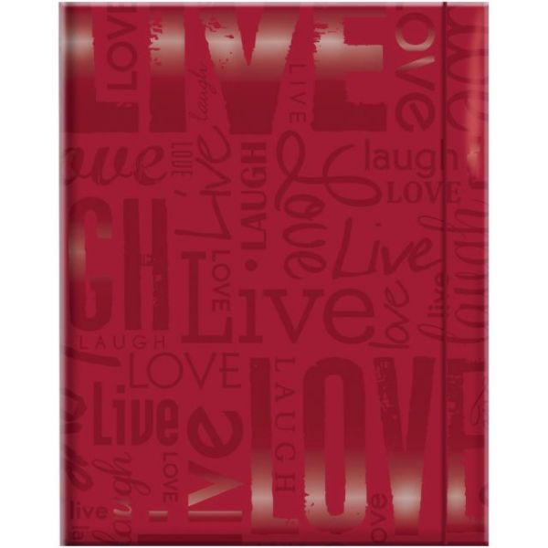 """Embossed Gloss Expressions Photo Album 4.75""""X6.5"""" 100 Pocket"""