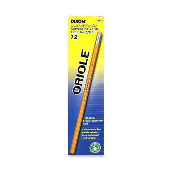 Dixon Oriole #2 Wood Pencils