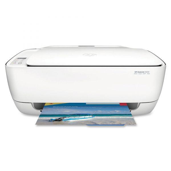 HP Deskjet 3630 Wireless All-in-One Printer, Copy/Print/Scan