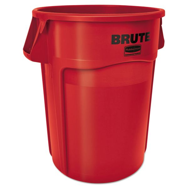 Rubbermaid Commercial Round Brute 55 Gallon Trash Cans