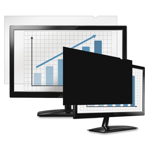 """Fellowes PrivaScreen Blackout Privacy Filter - 21.5"""" Wide"""