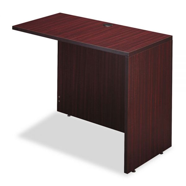 Alera Alera Valencia Series Reversible Return/Bridge Shell, 42w x 23 5/8d. Mahogany