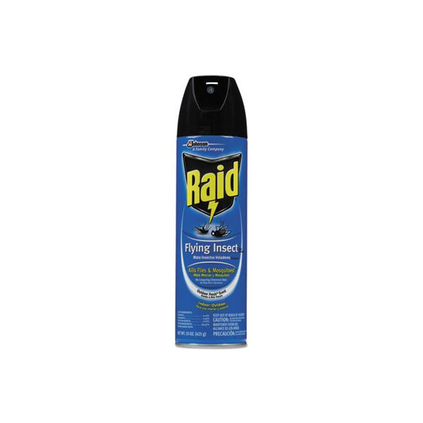 Raid Flying Insect Killer, 15 oz Aerosol, 12/Carton