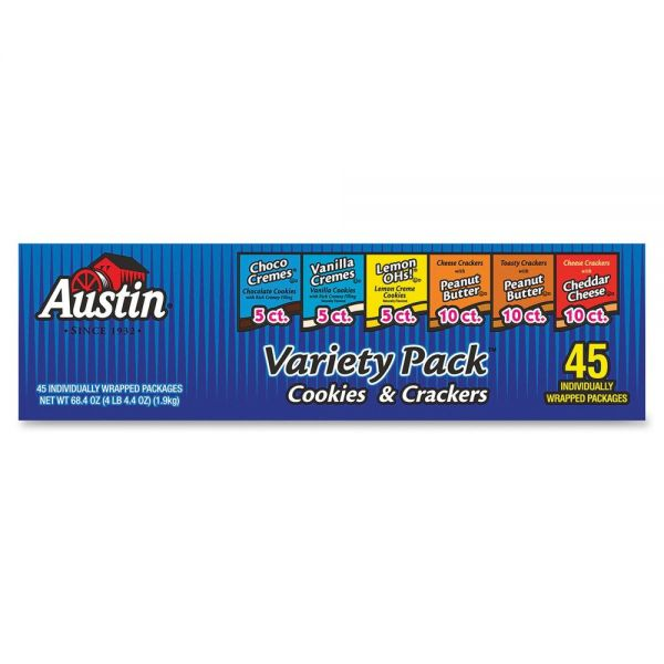 Austin® Cookies & Crackers Variety Pack