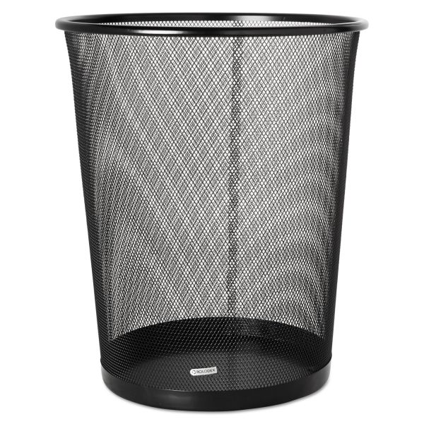 Rolodex Expressions 4.5 Gallon Mesh Trash Can