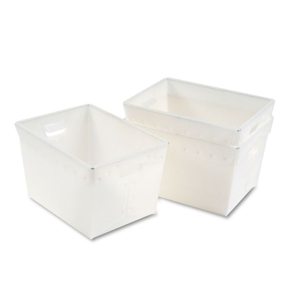 Mayline Kwik-File Mail Storage Totes, 18¼w x 13¼d x 11½h, 3/Carton