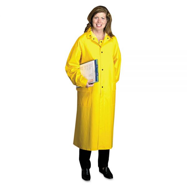 Anchor Brand Raincoat, PVC/Polyester, Yellow, X-Large