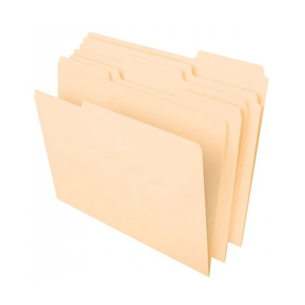 Pendaflex Cutless/WaterShed Manila File Folders