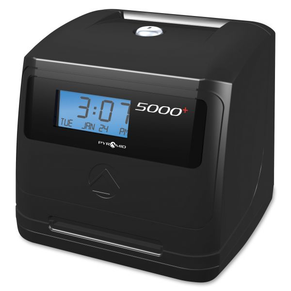 Pyramid 5000+ Auto Totaling Time Clock