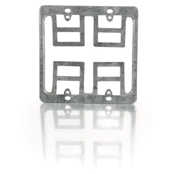 C2G Double Gang Wall Plate Mounting Bracket