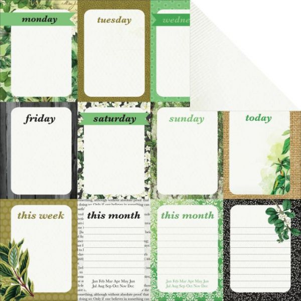 "Limelight Double-Sided Cardstock 12""X12"""