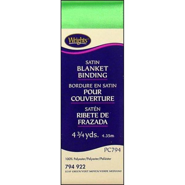 Single Fold Satin Blanket Binding