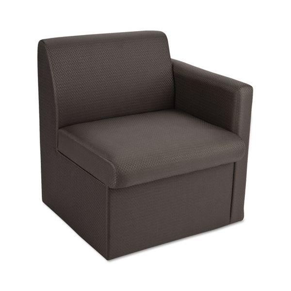 Global Braden Single Seat Reception Chair w/Left Arm