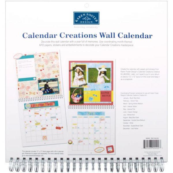 """Calendar Creations Wall Calendar 12""""X12"""""""