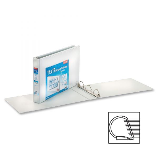 "Cardinal ClearVue 1 1/2"" 3-Ring View Binder"