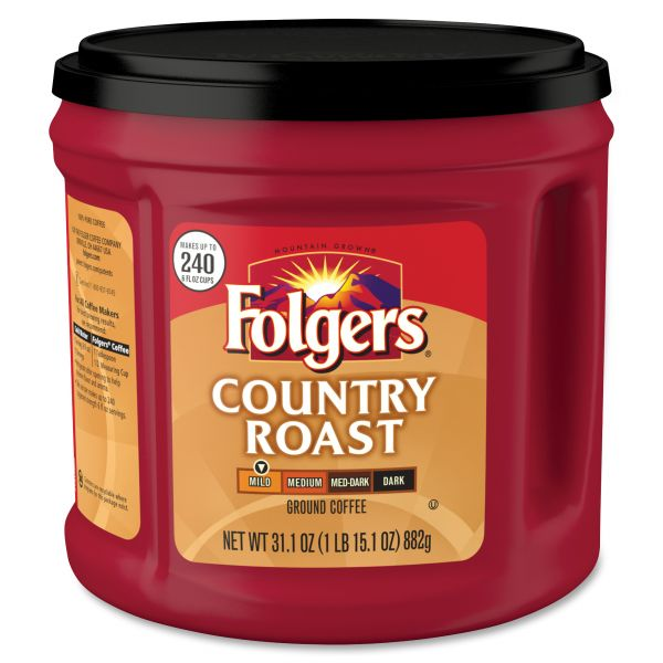Folgers Country Roast Ground Coffee