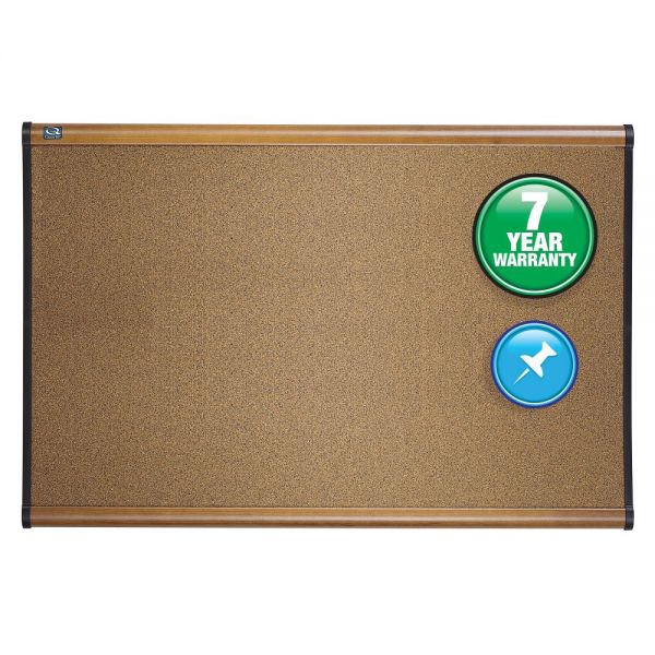 Quartet Prestige Colored Cork Bulletin Board