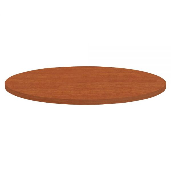 Lorell Round Invent Tabletop - Cherry